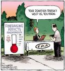 Comic Strip Dave Coverly  Speed Bump 2012-05-21 fundraising