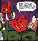 Comic Strip Dave Coverly  Speed Bump 2012-06-20 finger