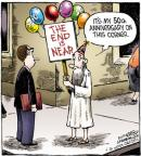 Comic Strip Dave Coverly  Speed Bump 2012-06-28 golden anniversary