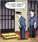 Comic Strip Dave Coverly  Speed Bump 2012-07-12 rug