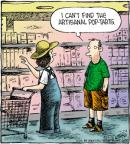 Comic Strip Dave Coverly  Speed Bump 2012-07-24 food quality