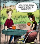 Comic Strip Dave Coverly  Speed Bump 2012-08-18 mental health
