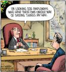 Comic Strip Dave Coverly  Speed Bump 2012-09-12 employee employer