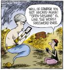Comic Strip Dave Coverly  Speed Bump 2013-02-11 get well