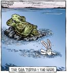 Comic Strip Dave Coverly  Speed Bump 2013-03-20 hare