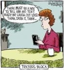 Comic Strip Dave Coverly  Speed Bump 2013-04-12 author