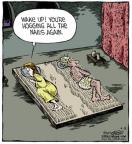 Comic Strip Dave Coverly  Speed Bump 2013-04-18 bed