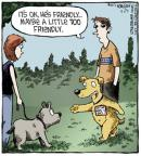 Comic Strip Dave Coverly  Speed Bump 2013-04-29 too friendly