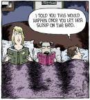 Comic Strip Dave Coverly  Speed Bump 2013-05-08 bed