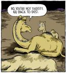 Comic Strip Dave Coverly  Speed Bump 2013-05-28 bed