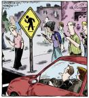 Comic Strip Dave Coverly  Speed Bump 2013-06-18 technology distraction