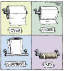 Comic Strip Dave Coverly  Speed Bump 2013-08-14 bathroom tissue