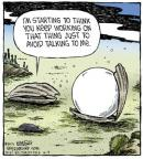 Comic Strip Dave Coverly  Speed Bump 2013-10-04 avoidance