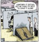 Comic Strip Dave Coverly  Speed Bump 2013-10-09 horror