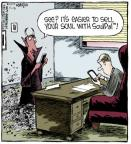 Comic Strip Dave Coverly  Speed Bump 2013-11-05 online auction