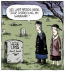 Comic Strip Dave Coverly  Speed Bump 2013-12-21 language