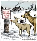 Comic Strip Dave Coverly  Speed Bump 2013-12-25 Christmas