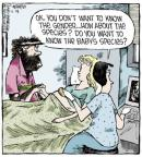 Comic Strip Dave Coverly  Speed Bump 2013-12-28 unborn