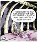 Comic Strip Dave Coverly  Speed Bump 2014-02-25 internet connectivity