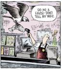 Comic Strip Dave Coverly  Speed Bump 2014-06-12 eagle