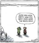 Comic Strip Dave Coverly  Speed Bump 2014-06-17 physics