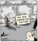Comic Strip Dave Coverly  Speed Bump 2014-06-19 avoidance