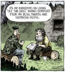 Comic Strip Dave Coverly  Speed Bump 2014-07-10 Facebook
