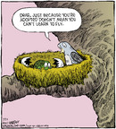 Comic Strip Dave Coverly  Speed Bump 2014-07-21 adoption