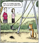 Comic Strip Dave Coverly  Speed Bump 2014-08-01 2011