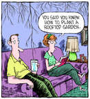 Comic Strip Dave Coverly  Speed Bump 2014-08-06 gardening