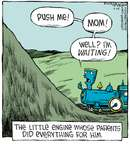 Comic Strip Dave Coverly  Speed Bump 2014-09-25 train engine