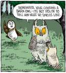 Comic Strip Dave Coverly  Speed Bump 2014-10-04 owl
