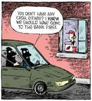 Comic Strip Dave Coverly  Speed Bump 2015-01-27 drive-thru