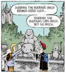 Comic Strip Dave Coverly  Speed Bump 2015-02-13 good luck