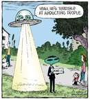Comic Strip Dave Coverly  Speed Bump 2015-04-22 abduction