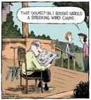 Comic Strip Dave Coverly  Speed Bump 2015-05-07 sound