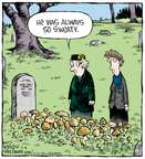 Comic Strip Dave Coverly  Speed Bump 2015-06-04 wet