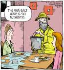 Comic Strip Dave Coverly  Speed Bump 2015-06-06 eating out