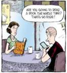 Comic Strip Dave Coverly  Speed Bump 2015-08-04 impolite