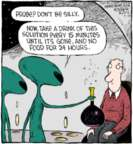 Comic Strip Dave Coverly  Speed Bump 2016-04-19 abduction
