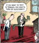 Comic Strip Dave Coverly  Speed Bump 2016-05-05 autocorrect
