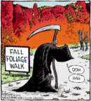 Comic Strip Dave Coverly  Speed Bump 2016-10-14 fall