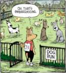 Comic Strip Dave Coverly  Speed Bump 2017-04-10 dog park