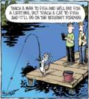 Comic Strip Dave Coverly  Speed Bump 2017-07-25 fish