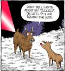 Comic Strip Dave Coverly  Speed Bump 2017-12-15 Christmas light