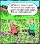 Comic Strip Dave Coverly  Speed Bump 2018-01-06 flower