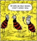 Comic Strip Dave Coverly  Speed Bump 2018-01-25 honey bee