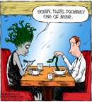 Comic Strip Dave Coverly  Speed Bump 2018-02-16 eating out