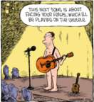 Comic Strip Dave Coverly  Speed Bump 2018-03-03 ukulele