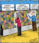 Comic Strip Dave Coverly  Speed Bump 2018-10-17 social media